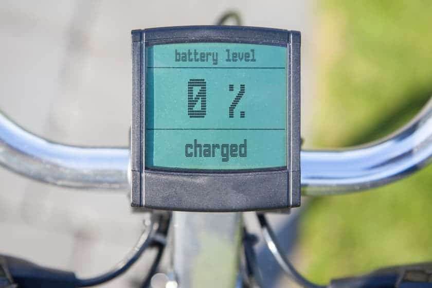 Charge electric bike on the go